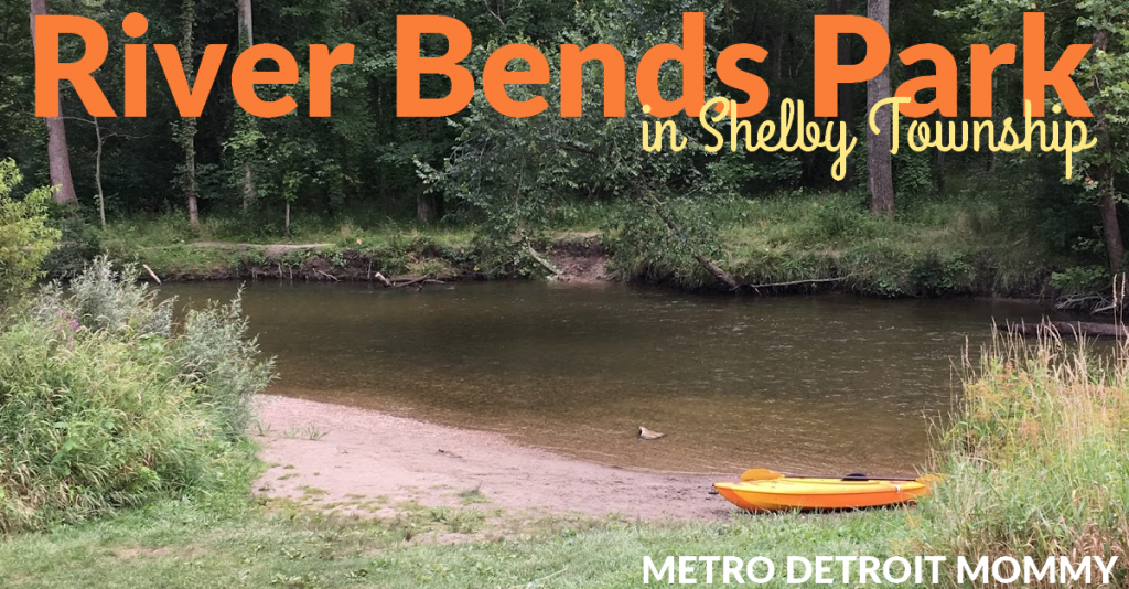 river bends Park in shelby township