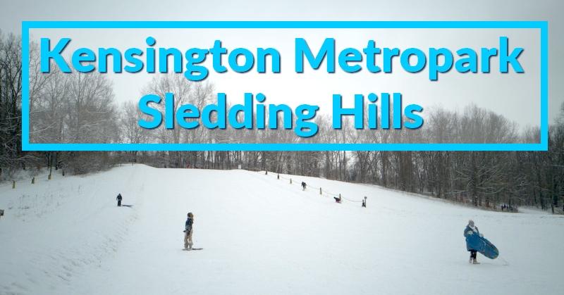 Kensington Metropark Sledding Hills