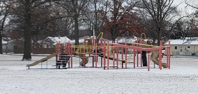 red/yellow playground