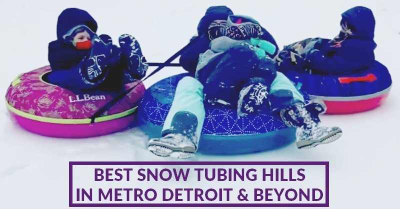 best snow tubing hills in metro detroit