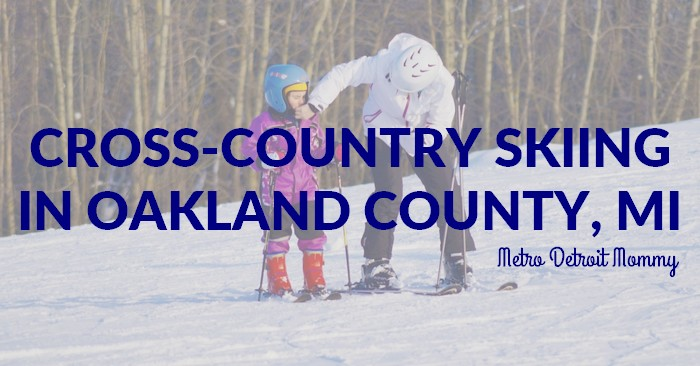 Cross Country Skiing Trails in Oakland County