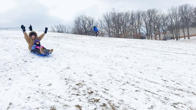 martin road park sledding hill