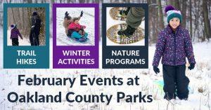 Oakland County Parks Winter Activities