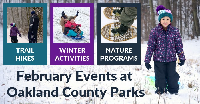 Oakland County Parks Winter Activities