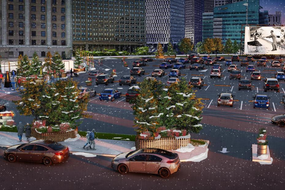 Detroit Drive-In Monroe Street Drive-In