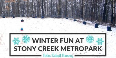 Outdoor Winter Activities at Stony Creek Metropark in Shelby Township