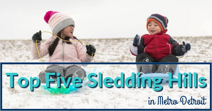 Super Slopes: Top Five Sledding Hills in Metro Detroit