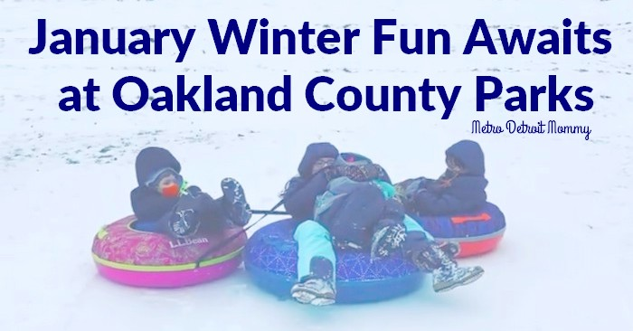 January Winter Fun Awaits at Oakland County Parks