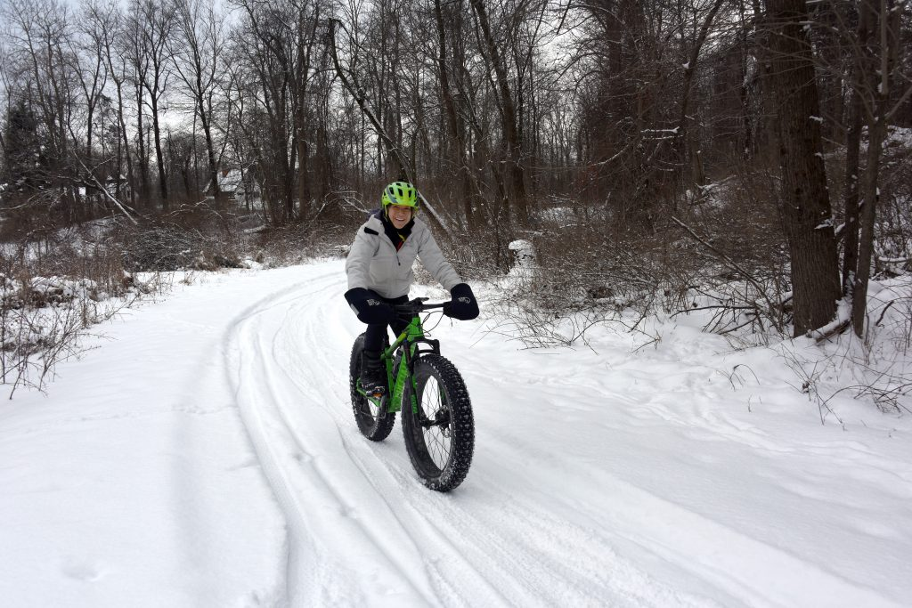 Winter Activities at Oakland County Parks  Fat tire biking
