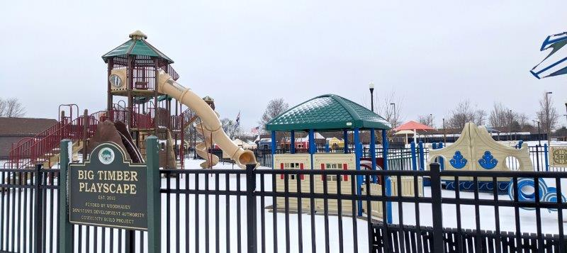 Civic Center Big Timber Playscape