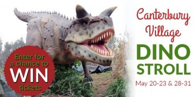 Dino Stroll Ticket Giveaway – You Could Win Four Tickets