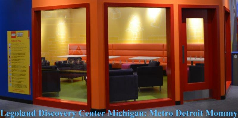 Quiet Room at Legoland Discovery Center Michigan
