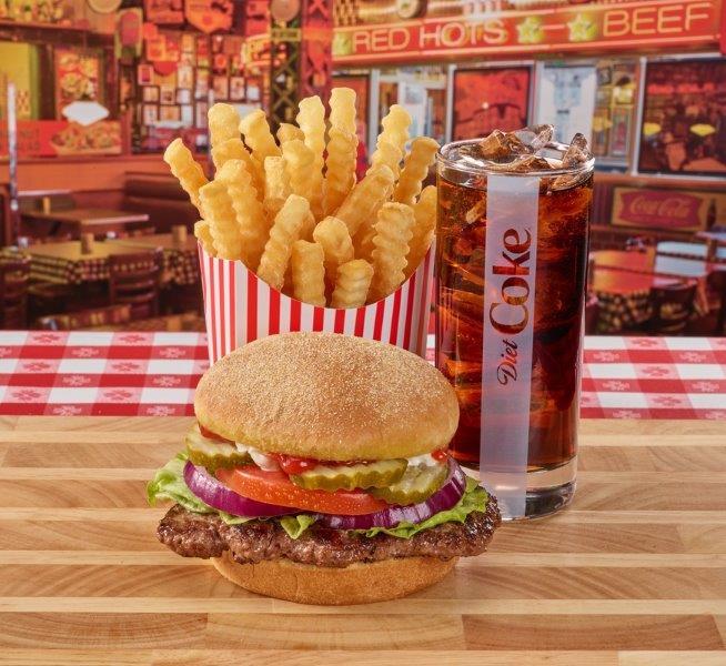 Portillo's Char-Broiled Burger