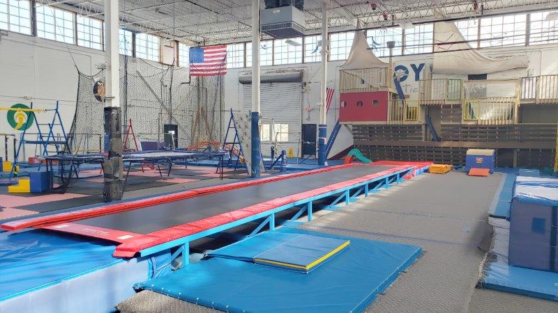 Troy Gymnastics open GYM TG1