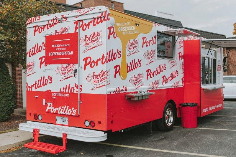 Portillo's in Sterling Heights Beef Bus