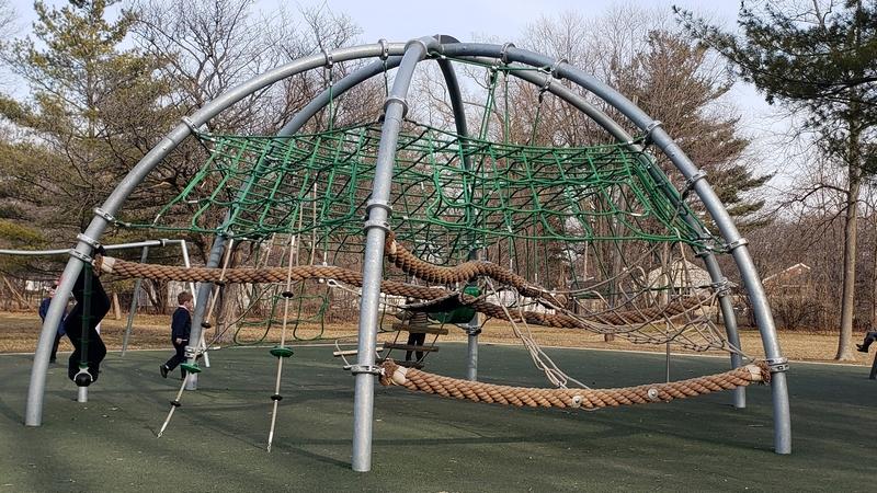 Sullivan Park climbing net