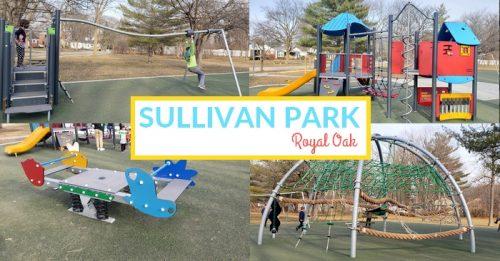 New Playground at Sullivan Park in Royal Oak