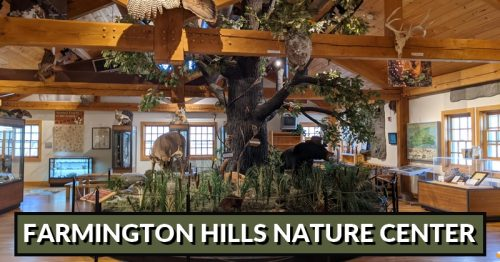 Farmington Hills Nature Center – Enjoy a day of Nature & Learning