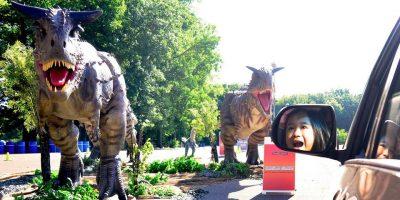 Jurassic Quest® Drive Thru Detroit: Socially-Distanced Rawrin' Good Time
