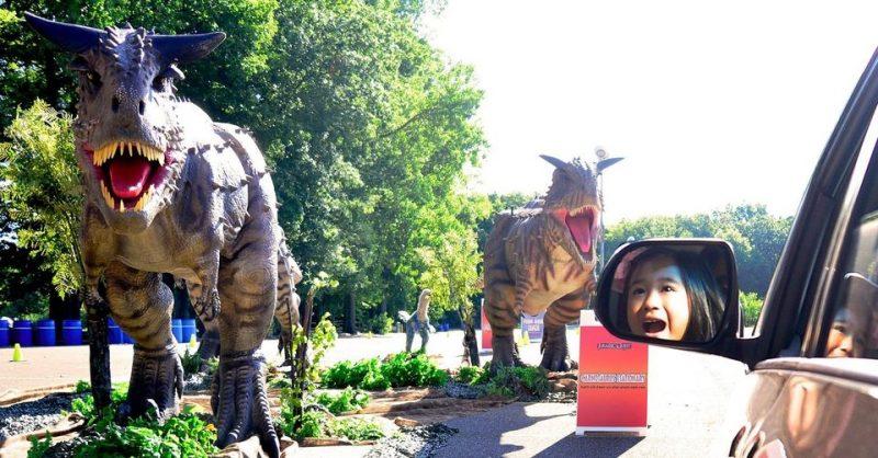Jurassic Quest® Drive Thru Returning to Detroit
