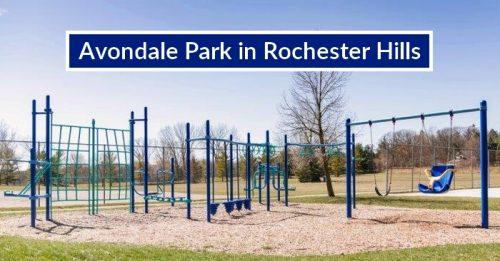 Avondale Park in Rochester Hills