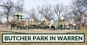 playground at Butcher Park in Warren