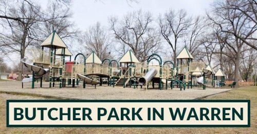 The Massive Playground at Butcher Park in Warren