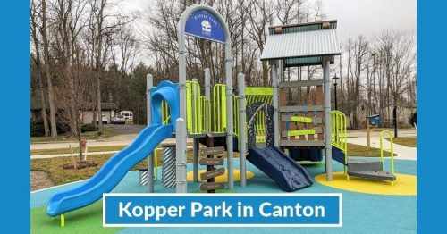 New Toddler Playground Opens at Kopper Park in Canton