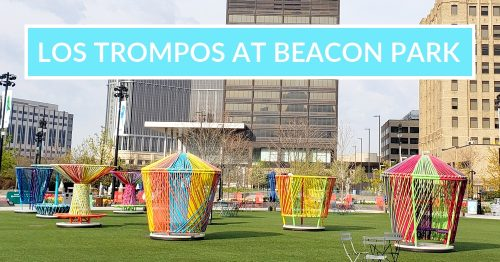 2021: Los Trompos at Beacon Park: Spinning. Whimsy. FUN