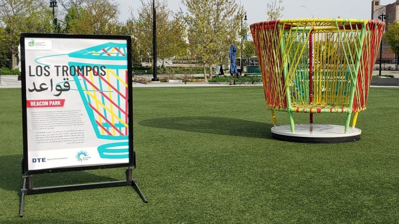 Los Trompos at Beacon Park in Detroit