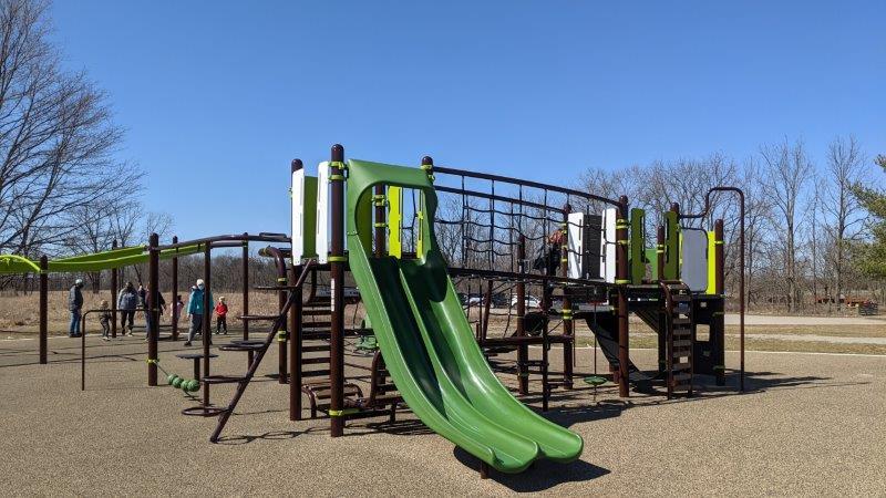 Maybury State Park Trailhead Playground