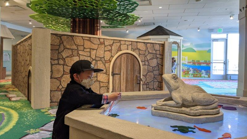 The David & Carol Van Andel Children's Gallery at  Frederik Meijer Gardens & Sculpture Park