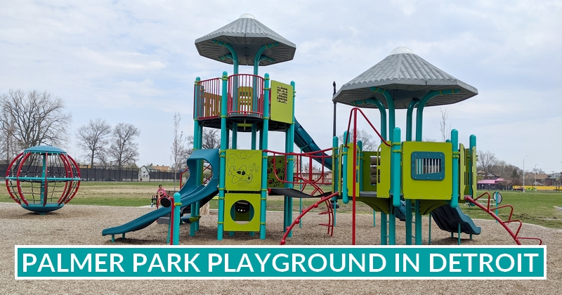 new playground at Palmer Park in Detroit