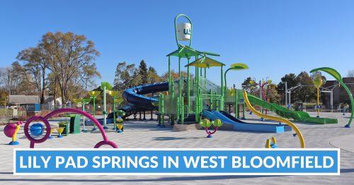 2021: Lily Pad Springs Splash Pad Opening in West Bloomfield