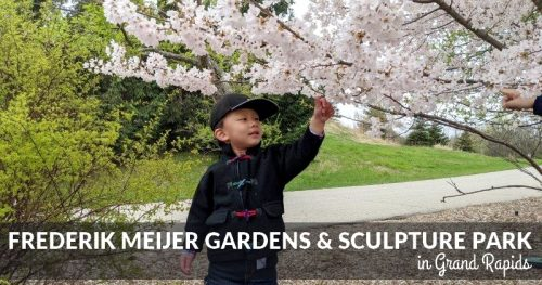 Day Trip: Frederik Meijer Gardens & Sculpture Park in Grand Rapids