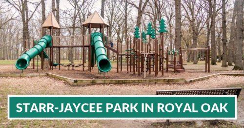 Starr-Jaycee Park in Royal Oak Playground & Train Rides