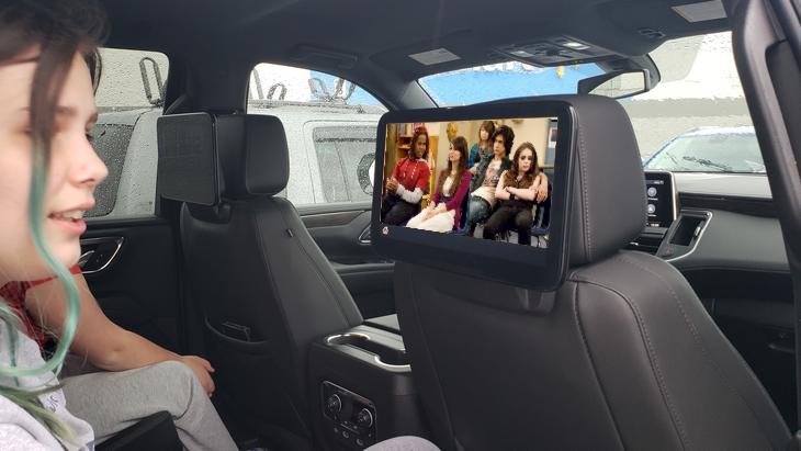 2021 Chevrolet Tahoe Rear Seat Media