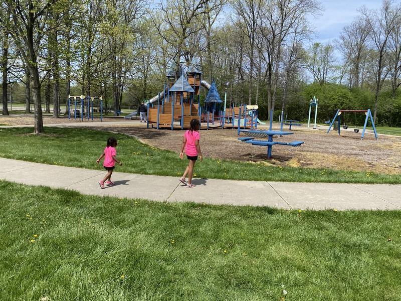 Southfield Civic Center Park Playground