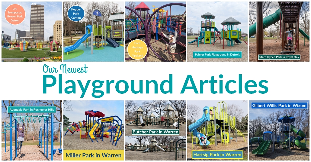 Find a New Playground Near You in Metro Detroit