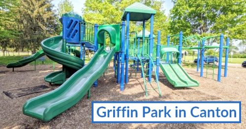 Griffin Park in Canton, Playground, Sports and Nature