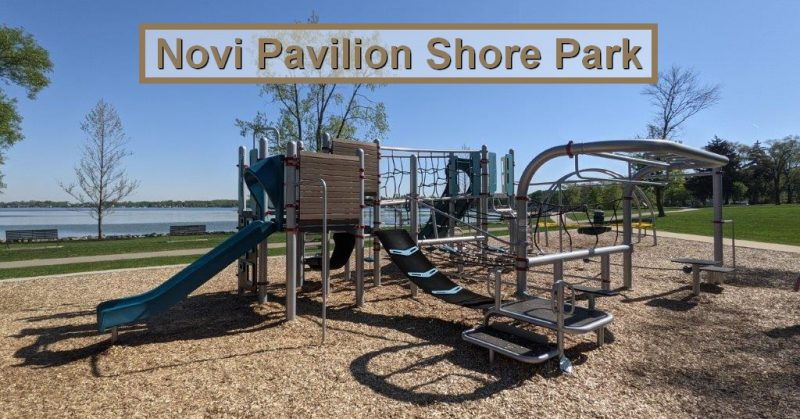 Pavilion Shore Park in Novi