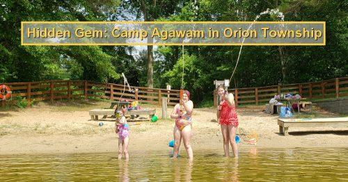Hidden Gem: Orion Township Camp Agawam Beach