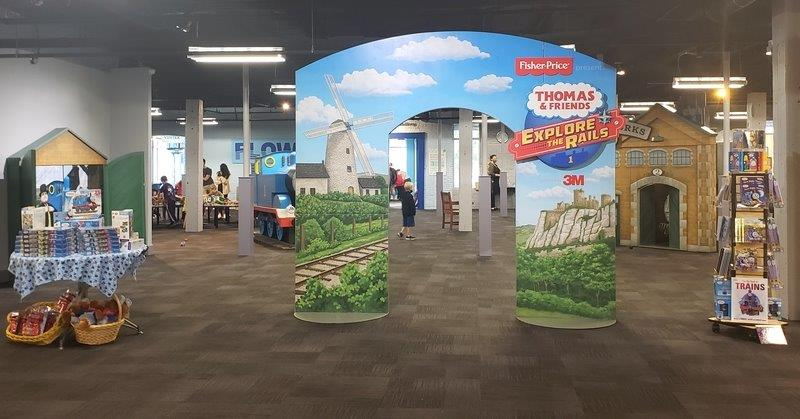 Thomas & Friends™ Arrives at the Impression 5 Science Center in Lansing