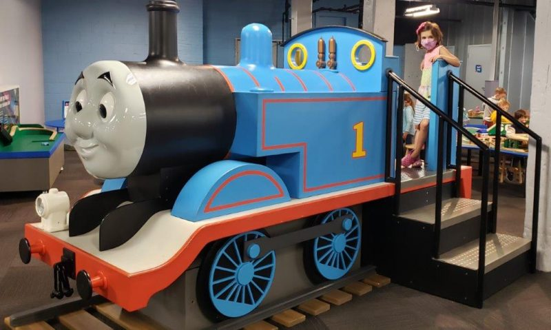 Thomas the Tank Engine at Impression 5