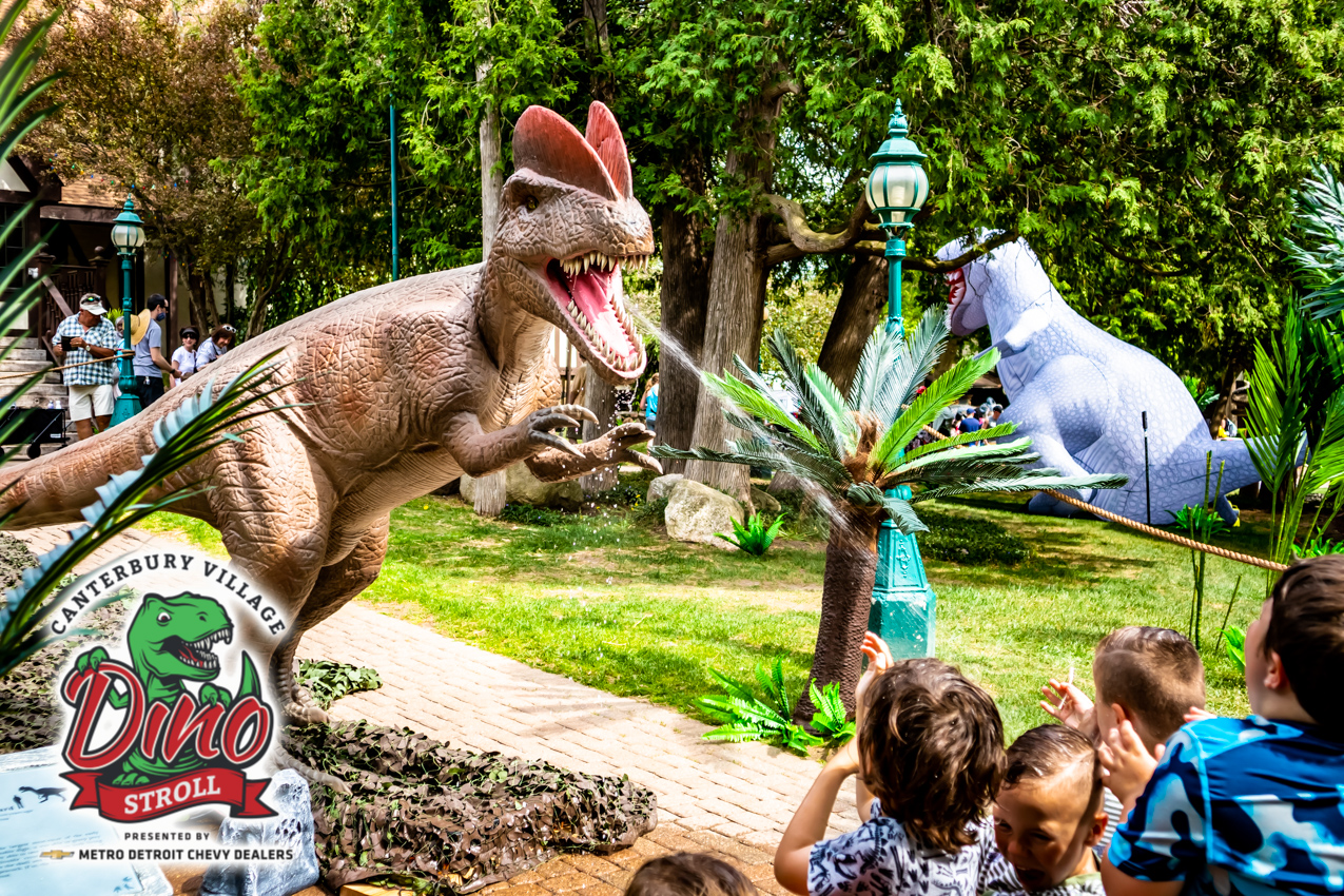 Dino Stroll is Returning for one Weekend