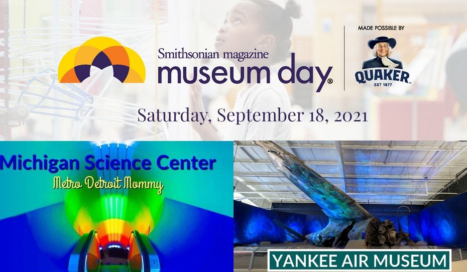 MUSEUM DAY - free admission to two local museums.