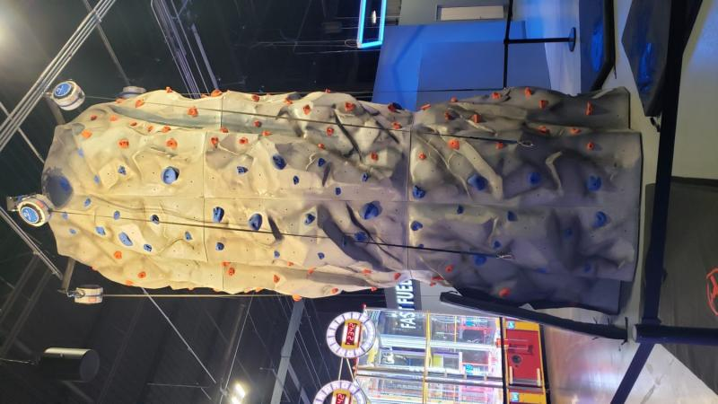 Rock Wall at Allegiant Nonstop in Warren