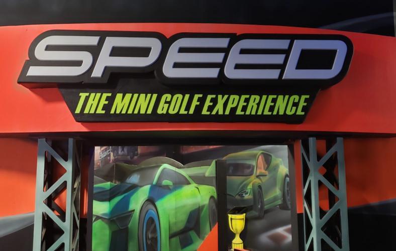 Black Light Indoor Minigolf in Warren Michigan
