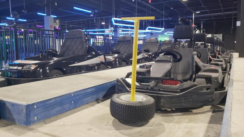 Go-Karts at Allegiant Nonstop in Warren Michigan