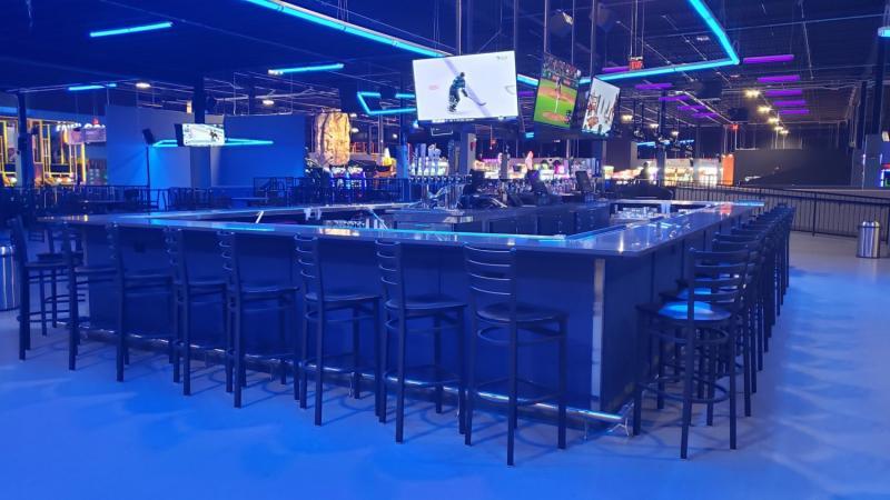 Bar at Nonstop in Macomb County